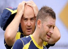 Michael Clarke and Micky Arthur