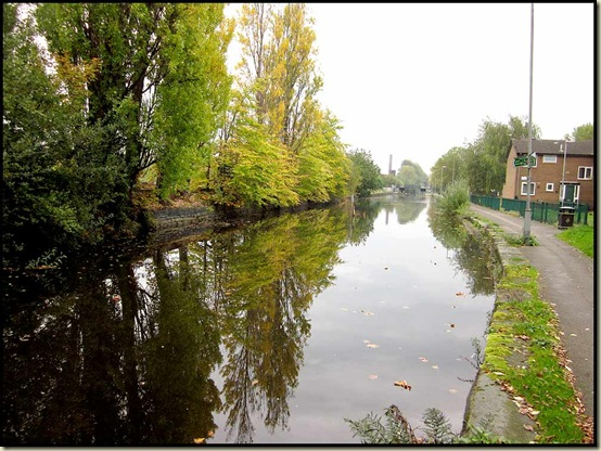 The Rochdale Canal in Failsworth