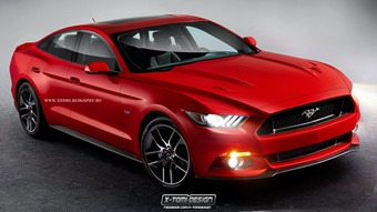 Ford Mustang Sedan2
