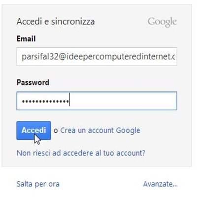 accedere-google-chome
