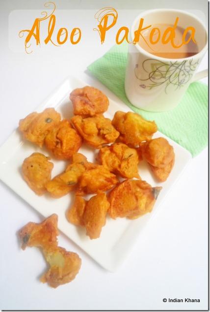 Urulai kizhangu bhaji aloo bhajiya recipe