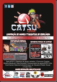 Catsu Chibi 2012 Cartaz