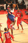 lebron james nba 130217 all star houston 61 game 2013 NBA All Star: LeBron Sets 3 pointer Mark, but West Wins