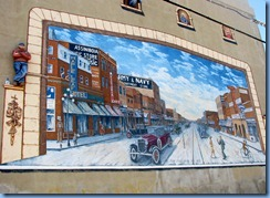 2075 Saskatchewan Moose Jaw historic downtown  - Murals of Moose Jaw - Main Street Moose Jaw 1920's