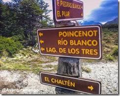 Placas Laguna de Los Tres, El Chaltén