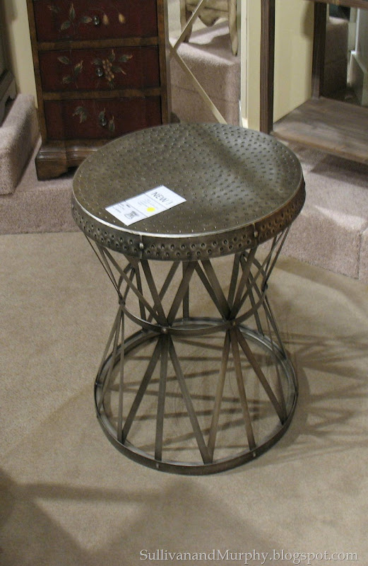metal stool or side table