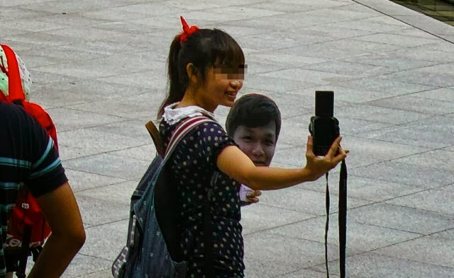 心霊写真かな?