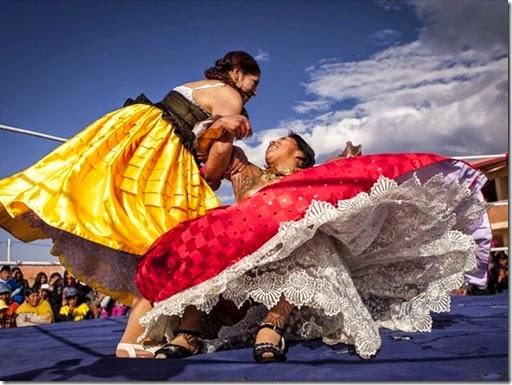 Cholitas de Bolivia