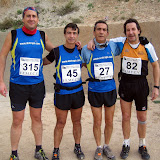 1 Prueba de liga de Carreras por montaa- Crevillente (7-Febrero-2010)