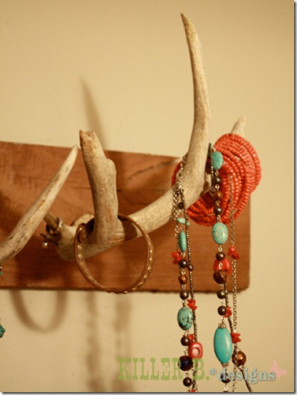 friday feature--antler jewelry holder from killer b designs