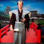 Matt as Samurai at Edo Wonderland in Nikko, Totigi (Tochigi) , Japan