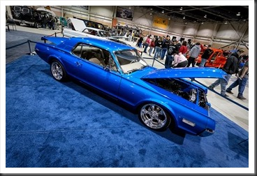 Elmer Hamm's 1968 Mercury Cougar at Motorama