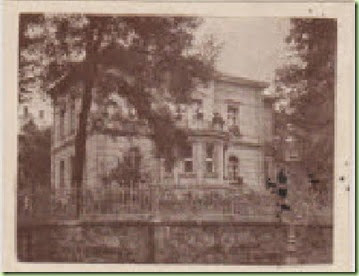 Heumann house before bombing CU