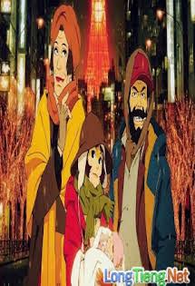 Một Đêm Tuyết Phủ - Tokyo Godfathers Tập 1080p Full HD