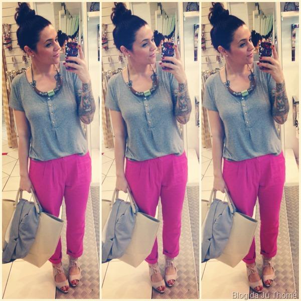 look calça pink e camiseta cinza (2)