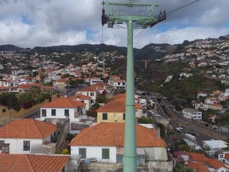 Revelion 2014: Telefericul din Funchal