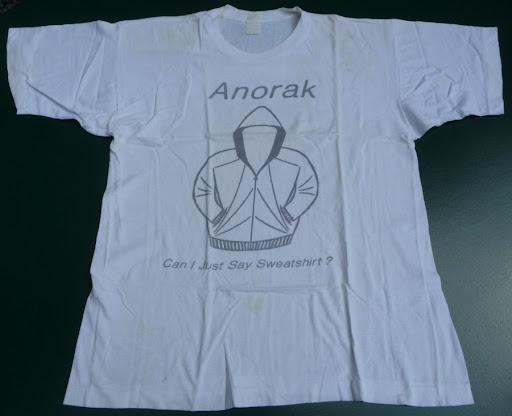 Anorak Fanzine