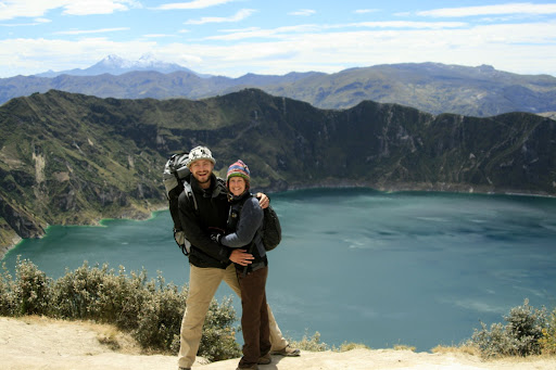 Here we are! Quilotoa crater!