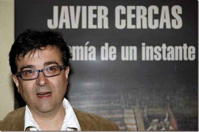 ESPAÑA-LIBROS-JAVIER CERCAS