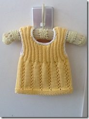 Chickadee Singlet 8ply Cotton