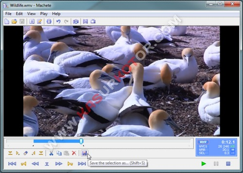 Menggabungkan, Memotong dan Memasukkan Video File di AVI dan WMV