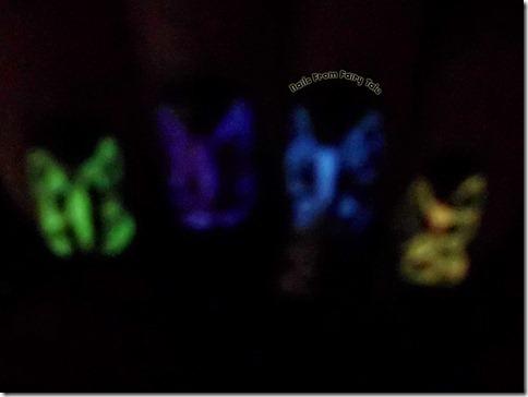 butterflies glow