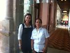con Maestra Irma Islas, Directora Vinculación DIF Nacional