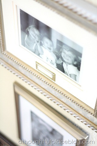 Brass Plates Picture Frames A Thoughtful Place