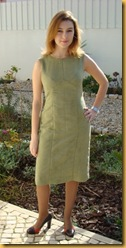 Vestido Verde Retro