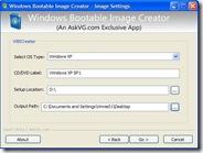 Creare immagine ISO di una cartella o CD di installazione di Windows XP, Vista o 7