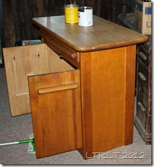 Dining Cabinet Before