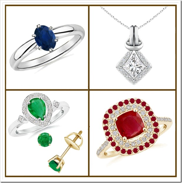 gemstone jewelry Collection from Angara