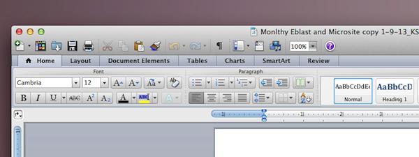 Office2011 OSX