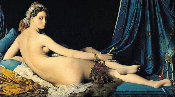 Ingres , La grande odalisque 1814