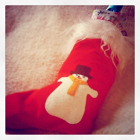 Stocking!