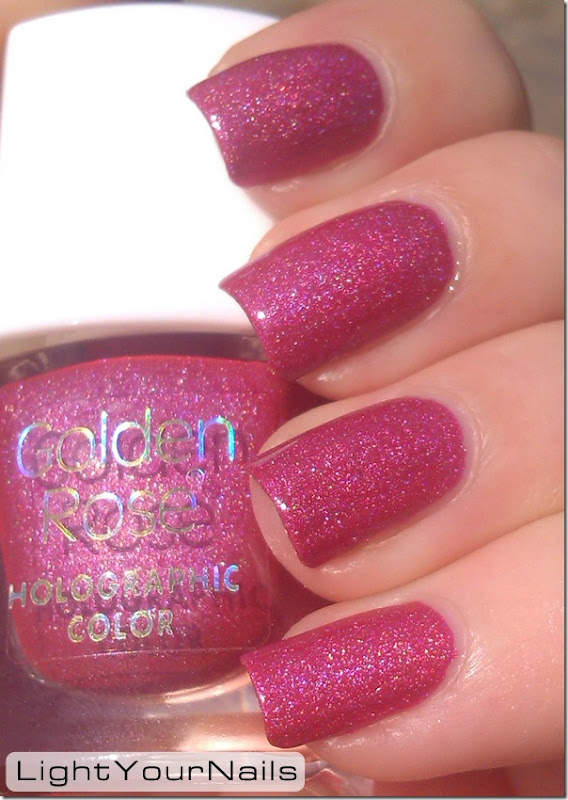 Golden Rose holographic color 120