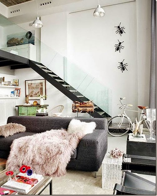 Elegant-two-level-loft-Madrid-4