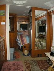 Interior MoHo with flash