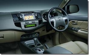 Fortuner SUV Terbaik Toyota FORTUNER VN Turbo dasboard
