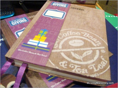 2013 CBTL Giving Journal is…