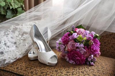 Purple Wedding Bouquet | Ideas in Bloom
