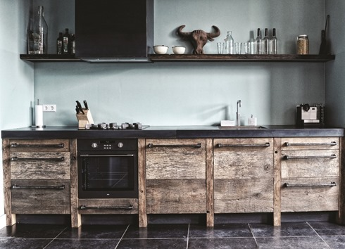 eikenhouten keuken (1)