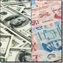 USD/MXN los billetes de las respectivas divisas