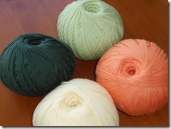 Bendigo Luxury 8ply Citrus, Forest, Leaf, Orange