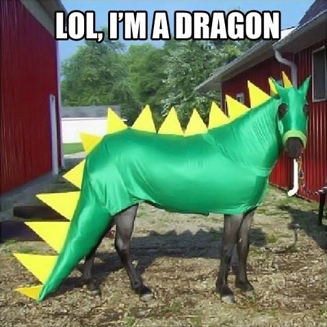 Horse Cosplay via Cheeburger