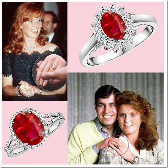 Sarah Fergusons Ruby Engagement Ring