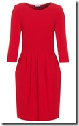 Jaeger London Red Tulip Dress