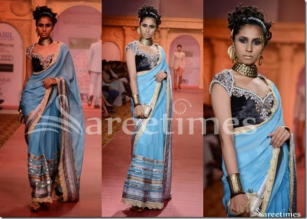 Nivedita_Saboo_Blue_Saree
