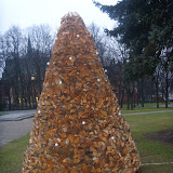 Деревянная елочка