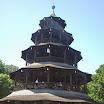 Munich en Bavière - Jadin anglais - Tour Chinoise